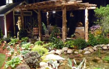 outdoor lifestyle backyard paradise, landscape, outdoor living, ponds water features, Outdoor Living Area