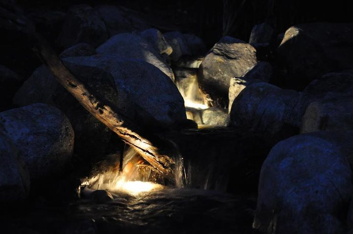 Waterfalls Just as Beautiful at Night!