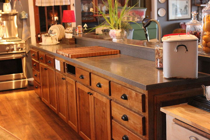 what do you do when you are stuck inside i redid my island, how to, kitchen design, kitchen island, painting