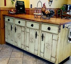 Kitchen Cabinet Island Makeover, Decoupage, Kitchen Design, Kitchen Island,  Painted Furniture,