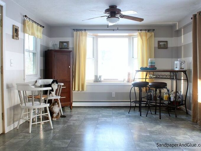 sunroom makeover before and after hometalkeveryday, home decor, home improvement