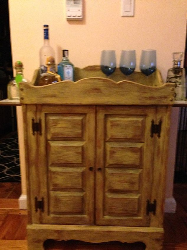 how to turn a dry sink into a bar, how to, painted furniture, repurposing upcycling