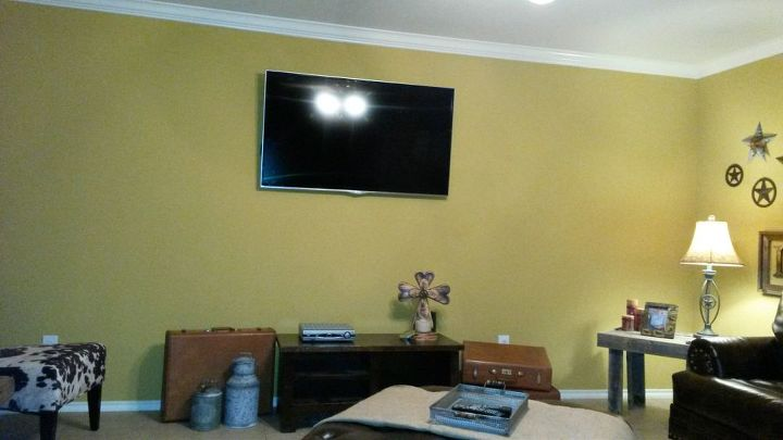 Dressing Around Blank Tv Wall In Family Room Hometalk