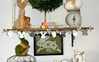 Easter Mantle - Vintage Neutral