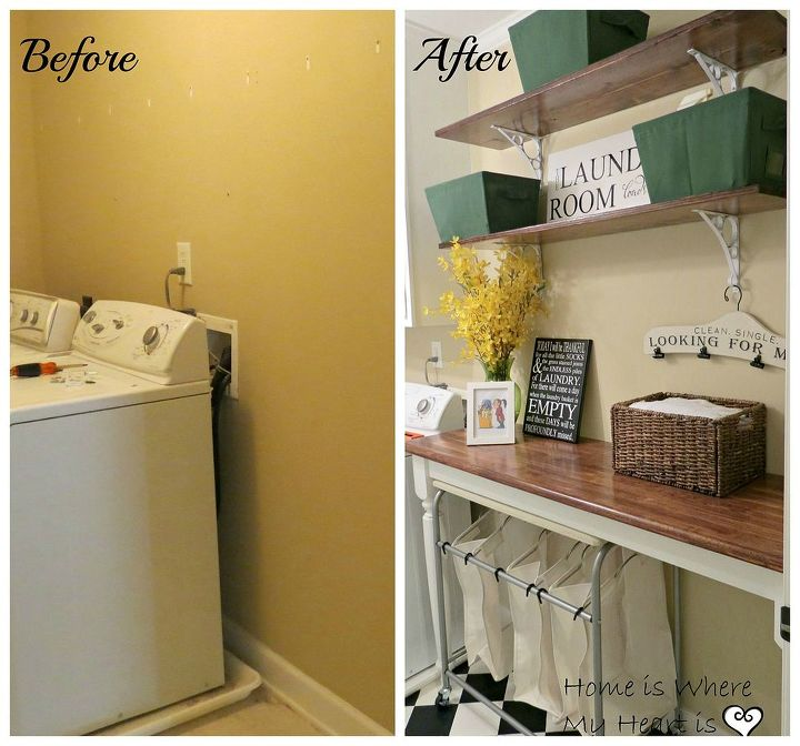 Charming Laundry Room Makeover | Hometalk