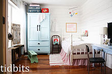girl bedroom with cottage charm, bedroom ideas, organizing, storage ideas, wall decor