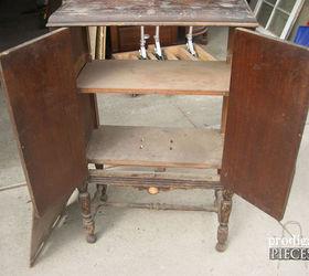 Antique Radio Turned Sewing Cabinet | Hometalk