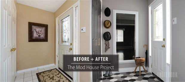 Fantastic Foyer Ideas To Make The Perfect First Impression: Front Foyer Makeover Before & After
