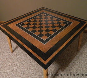Chubby Checkerboard Accent Table Makeover, How To, Painted Furniture,  Repurposing Upcycling