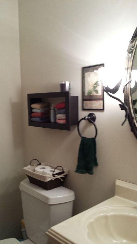 powder room redo, bathroom ideas, small bathroom ideas