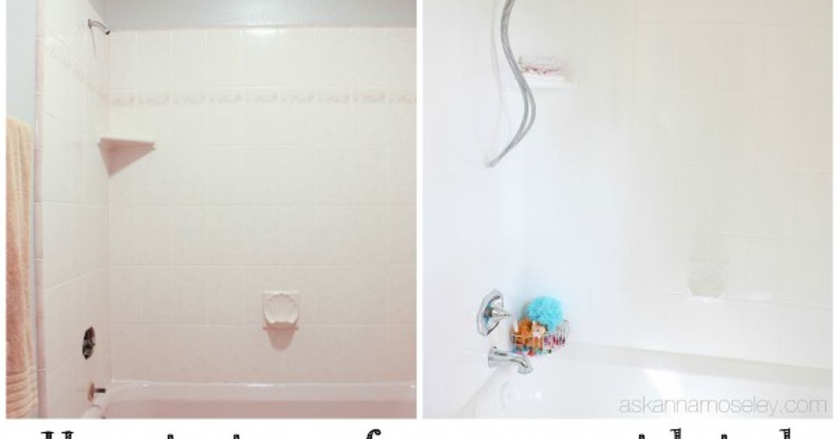 Rust-Oleum Tub And Tile Update (One Year Later) | Hometalk