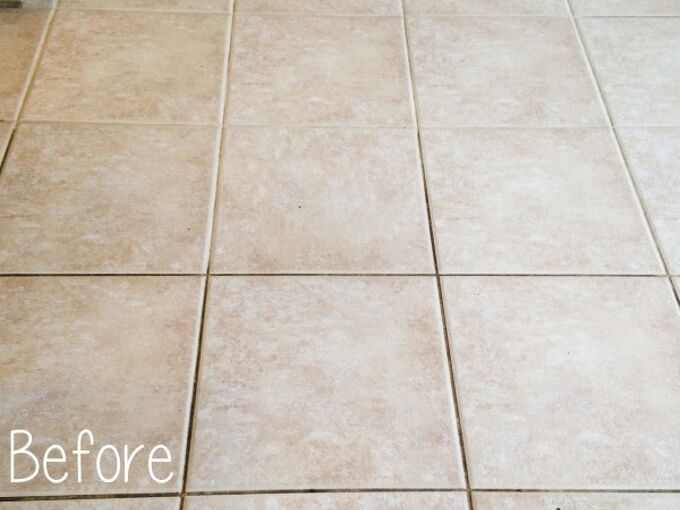 how to clean tile grout without chemicals, cleaning tips, tile flooring, tools