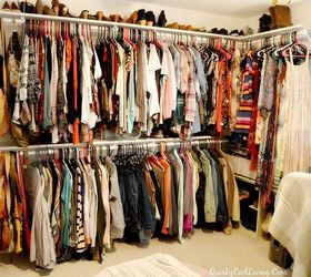 High Quality Craft Room Turned Dressing Closet Room On A Budget, Bedroom Ideas, Closet,  Organizing