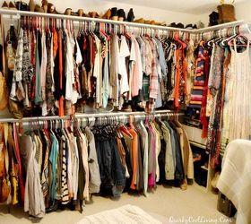 Craft Room Turned Dressing Closet Room On A Budget, Bedroom Ideas, Closet,  Organizing