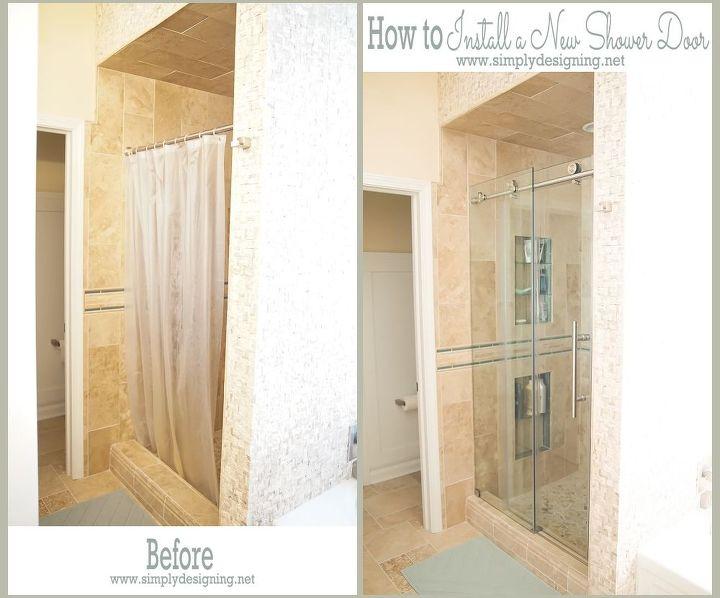 How to Install a New Shower Door | Hometalk