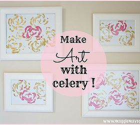 Creative Way To Use Up Celery Stalk Ends, Crafts, How To, Repurposing  Upcycling