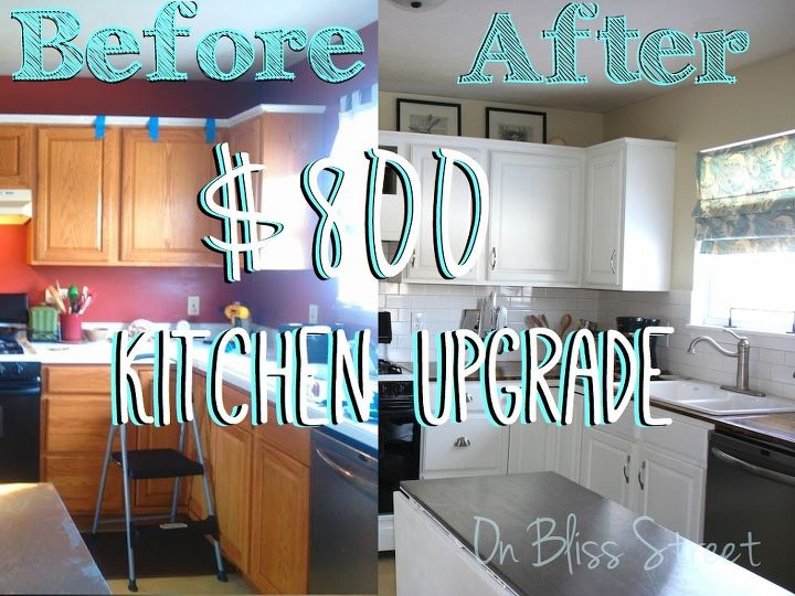 Awesome Kitchen Transformation For Under 1000 Countertops Home Improvement Cabinets