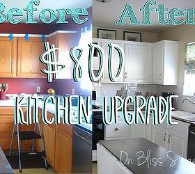 Awesome Kitchen Transformation For Under 1000, Countertops, Home  Improvement, Kitchen Cabinets, Kitchen