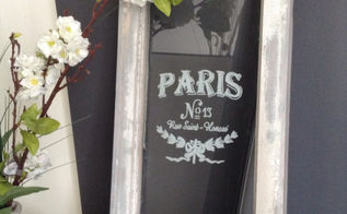 ville de paris vintage window, crafts, how to, repurposing upcycling, windows