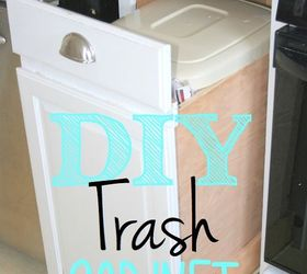 Marvelous How To Build A Pull Out Trash Bin From Existing Cabinets, Kitchen Cabinets,  Kitchen