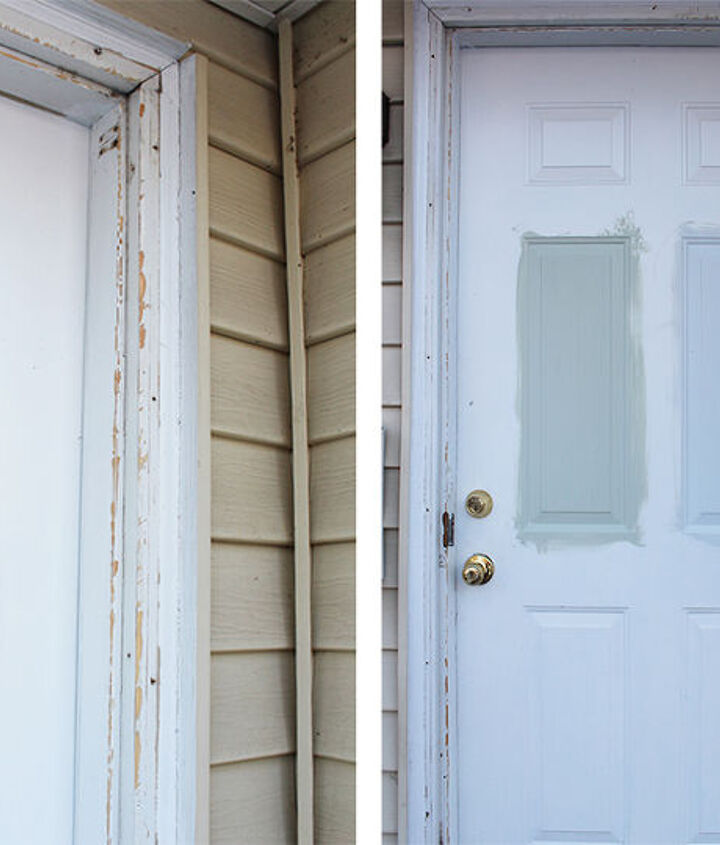 how to install exterior trim brick molding, curb appeal, doors, home maintenance repairs, how to