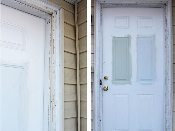 How to install exterior trim brick molding hometalk for Installing brick molding for exterior doors
