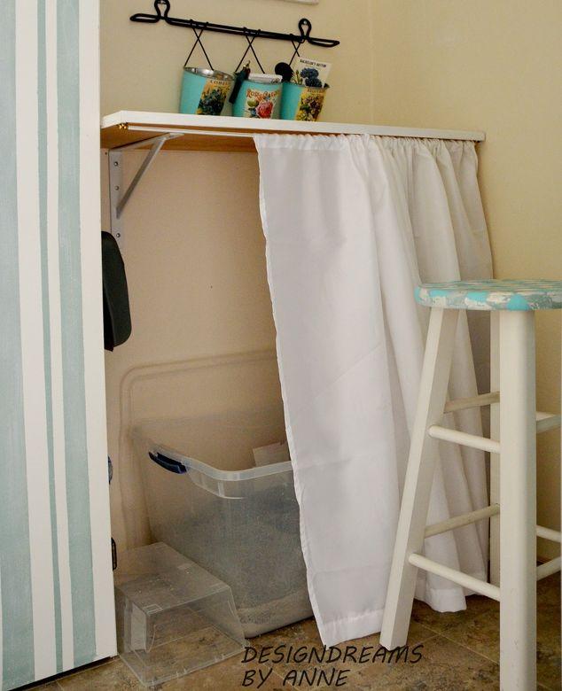 Quick Easy Litter Box Disguise Hometalk - Litter box in bathroom for bathroom decor ideas