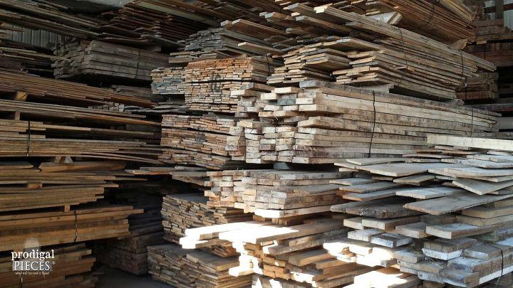 q reclaimed wood heaven