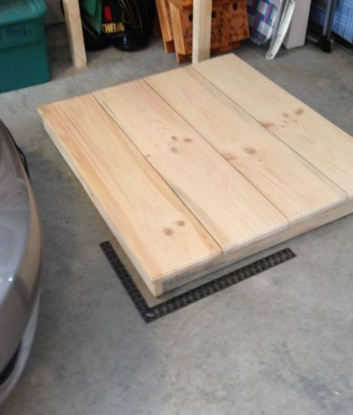 table and benches, diy, how to, outdoor furniture, painted furniture, woodworking projects