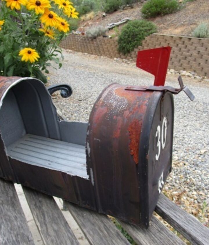 Garden Planter From A Mailbox Hometalk