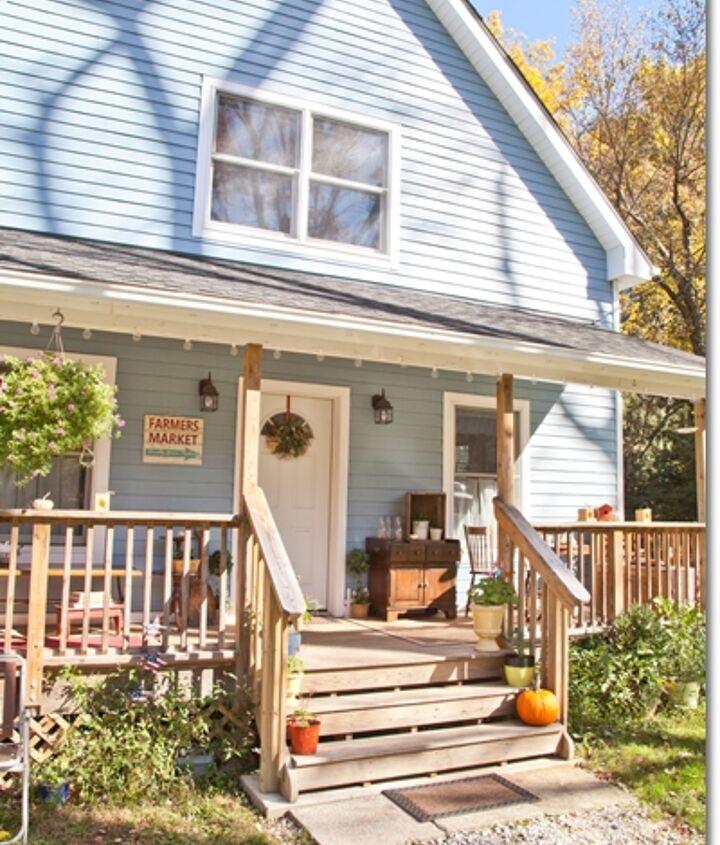 Blue Cottage porch