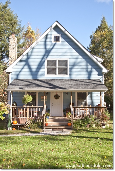 q which color would you paint our cottage front door help, curb appeal, doors, paint colors, painting, Blue Cottage porch