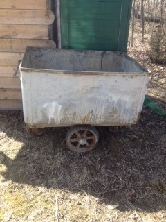 q use for this tub cart, outdoor living, repurposing upcycling