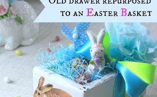 repurpose an old drawer into an easter basket, crafts, easter decorations, how to, repurposing upcycling, seasonal holiday decor