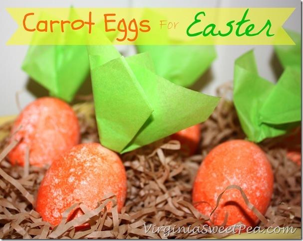 carrot easter eggs, crafts, easter decorations, seasonal holiday decor