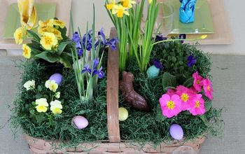 Gorgeous Spring Centerpiece in About 5 Minutes
