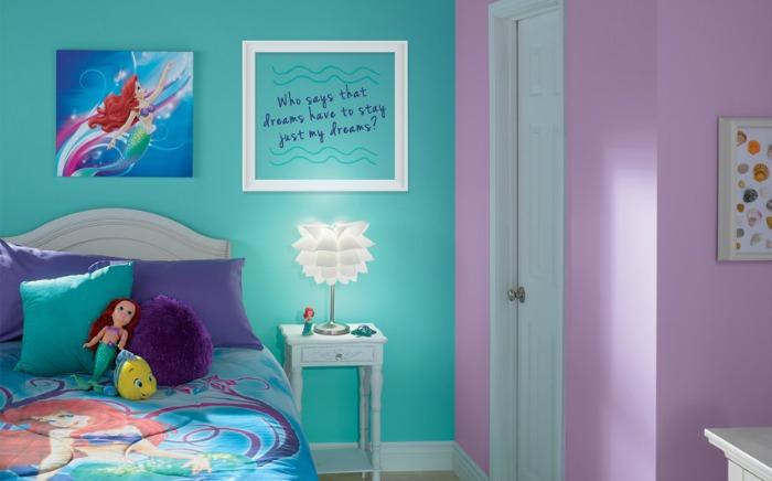 Little Mermaid Bedroom Makeover Ideas Paint Colors Painting