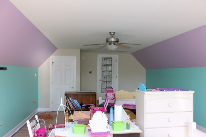 Little Mermaid Bedroom Makeover Ideas Paint Colors Painting