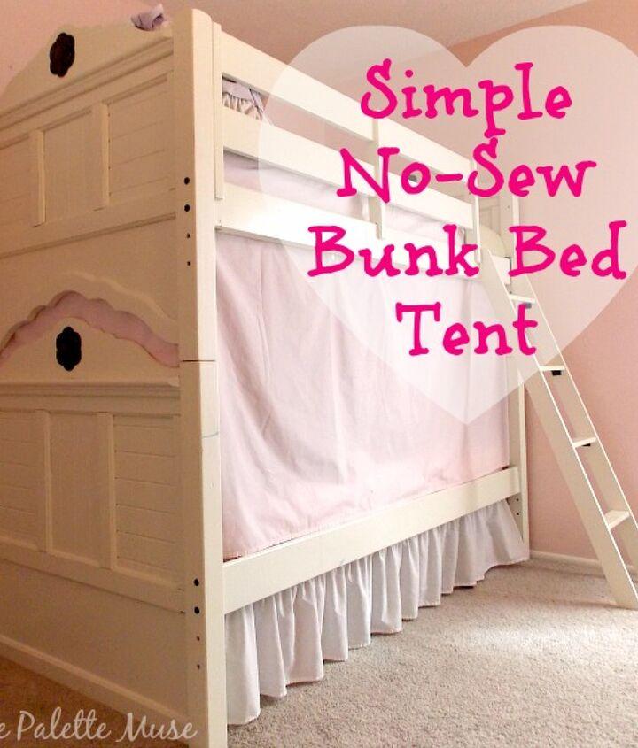 Diy Easy Bunk Bed Tent Hometalk