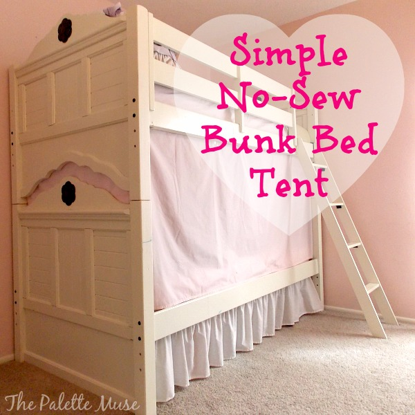 Diy Easy Bunk Bed Tent Hometalk