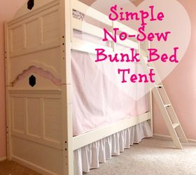 super easy secret to building the perfect bunk bed tent bedroom ideas how to & Super Easy Secret to Building the Perfect Bunk Bed Tent | Hometalk