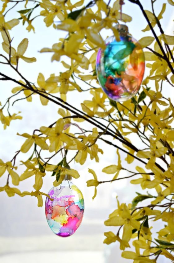 stained glass easter eggs easter springideas, crafts, easter decorations, repurposing upcycling, seasonal holiday decor
