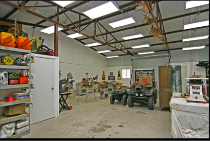 q heating and cooling large shop eliminating dust, home maintenance repairs, how to, hvac