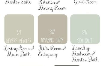 whole house paint scheme idea soothing sophisticated, home decor, paint colors, painting