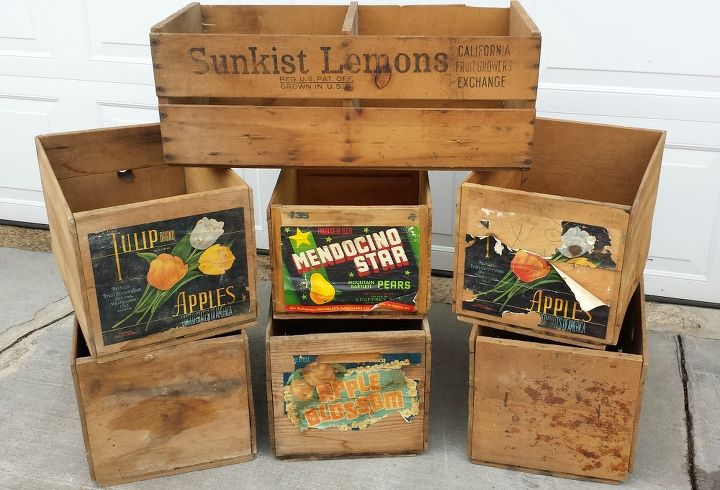 q looking for old wood fruit crate cleaning preserving tips, cleaning tips, repurposing upcycling