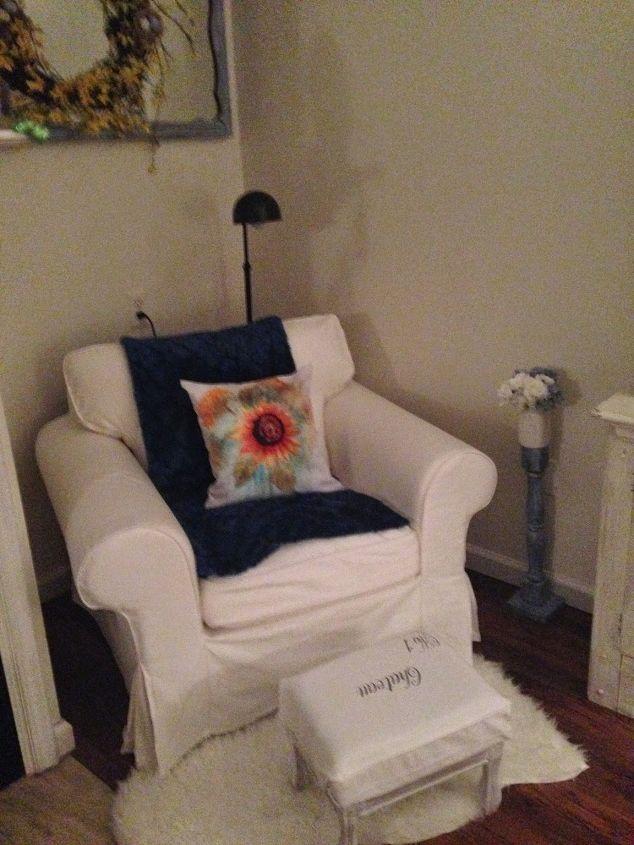 reading corner, living room ideas