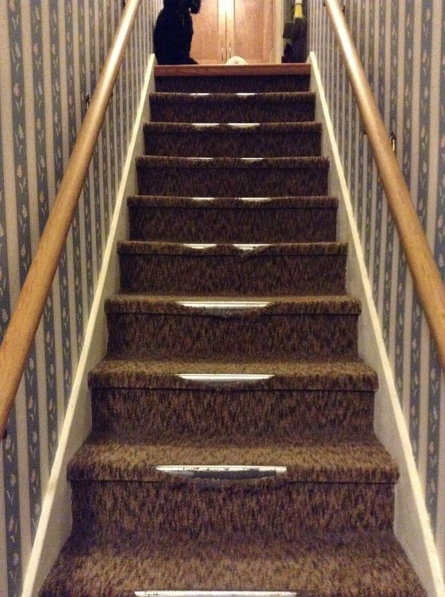 Removing Indoor Outdoor Carpet From Stairs Hometalk