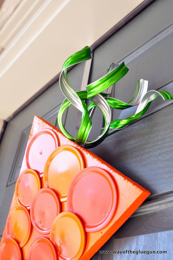 canning ring carrot wreath, crafts, easter decorations, how to, repurposing upcycling, seasonal holiday decor, wreaths