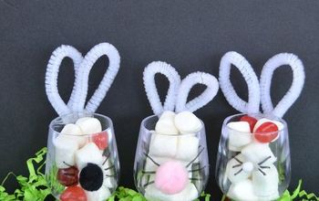 bunny favors for easter, crafts, easter decorations, how to, seasonal holiday decor
