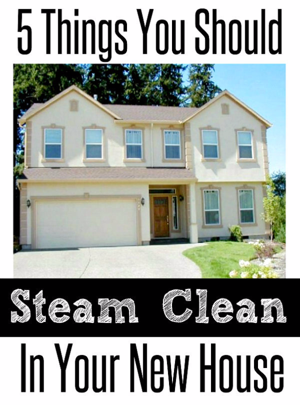 5 things you should be steam cleaning, cleaning tips